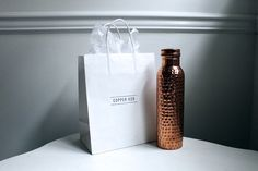Copper isn't just pretty, it's functional. Read on to find out how drinking from a copper water bottle can be beneficial to your health.