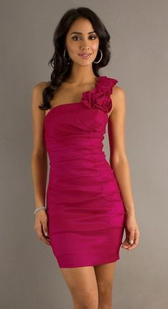 Red Short Tight Sweet 16 Dresses