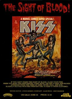 "June 30 1977 - Marvel Comics publishes the ""Kiss Book"""