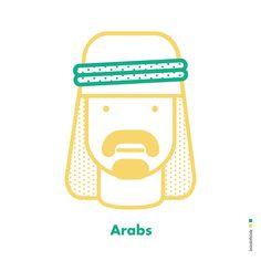 #character #arabs #ininkthink