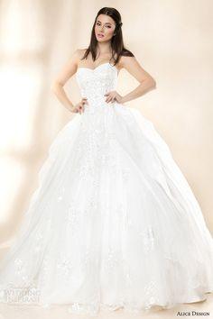 Alice Design 2014 Wedding Dresses — Vintage Love Bridal Collection | Wedding Inspirasi
