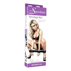New review of the Sportsheets Bondage Bar, by Cara Sutra's Pleasure Panel