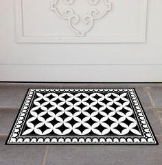 PVC Door Mat, Welcome Mat, Dog Rug, Pets mat,  Comfort mat, Housewarming , 132 by videcor on Etsy