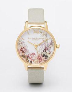 Olivia Burton Flower Show Midi Dial Watch - Grey #accessories #covetme #oliviaburton #covetme LOVELOVELOVE
