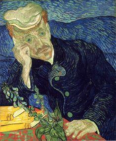 """Art Inspiration For Today: Portrait of Dr Gachet by Vincent van Gogh (Dutch), oil on canvas, genre: Impressionism, 1890 Van Gogh Museum, Städel Museum, Vincent Van Gogh, Fine Art Prints, Framed Prints, Poster Prints, Canvas Prints, Paul Gauguin, Mark Rothko"