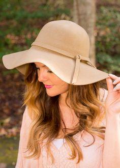 Around The World Wide Brim Hat-Mocha