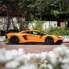 Lamborghini Aventador Super Veloce Coupe painted in Arancio Atlas Photo taken by: @jwheelphotos on Instagram
