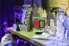 Mary Blair Workspace | Flickr - Photo Sharing!