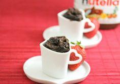 Flourless Nutella Mug Cake   Kirbie's Cravings   A San Diego food blog