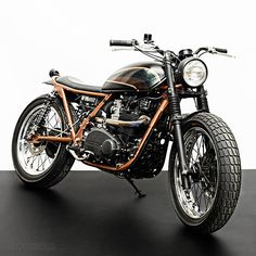 Custom motorcycle by the Wrenchmonkeys