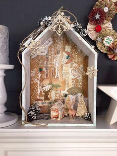 szopka bożonarodzeniowa, christmas ornament, decoration, boże narodzenie, ozdoby świąteczne, scrapbooking, handmade