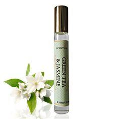 GREEN TEA JASMINE Perfume Oil Organic green Tea & by ScentualAroma