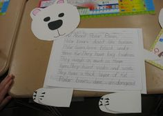 Polar Bears writing project freebies!! I'm definitely doing this with my class!