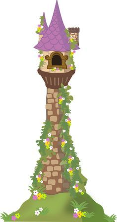 tangled castle clipart - Google Search