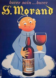 Vintage Poster - Wine - Drink