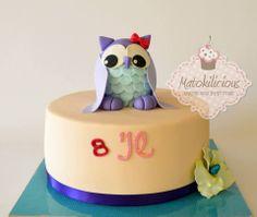 Owl cake - Matokilicious
