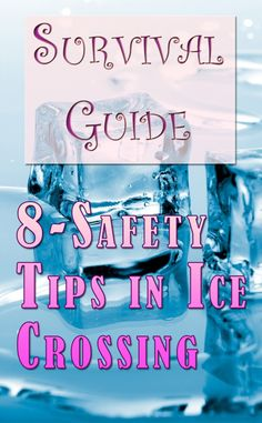 There are many dangers and you should know what to look for before you attempt to cross any ice covered waters/lakes. And you should also know what safety steps to take to be as secure as you can. I will provide you with a survival guide in crossing frozen lakes that you must remember this winter. More on the subject at http://killersurvivalskills.com/survival-guide-ice-crossing/