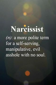 Narcissist Definition #Quote #sociopath