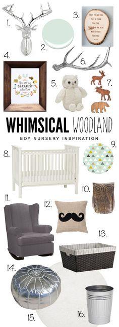 Whimsical Woodland Nursery Design | www.simplystewarts.com