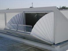 E.N.F.C. SMOKE SHED® della CAODURO S.p.a. Sistema di Evacuazione Naturale di Fumo e Calore