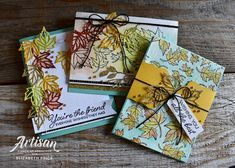 Seeing Ink Spots: Blended Seasons Stampin' Up! Artisan Blog Hop