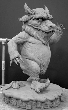 Where the Wild Things are Maquette by Don Lanning for Spectral Motion