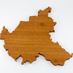 """Schneidebrettchen Holz - Design """"Hamburg"""" - Bambus – Stadt-Brettchen"""