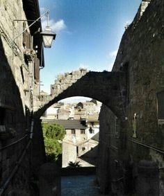 Quartiere medievale di Pianoscarano a #Viterbo