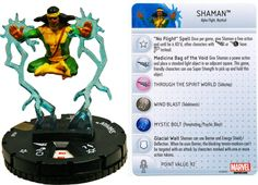 Shaman #040 Invincible Iron Man Booster Set Marvel Heroclix - Invincible Iron Man Booster Set - Heroclix