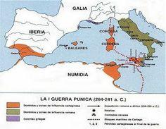 260 a 241 a.C - Primera Guerra Punica: