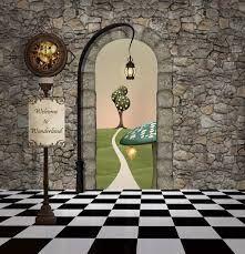 Image result for Alice in Wonderland backdrop