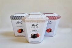 Gourgeous touch of lace, love it. LINDOR Lindt (Student Project) on Packaging of the World - Creative Package Design Gallery Print Packaging, Product Packaging, Packaging Ideas, Food Packaging, Ice Cream Packaging, Lindor, Jar Labels, Thinking Outside The Box, Stationery Design