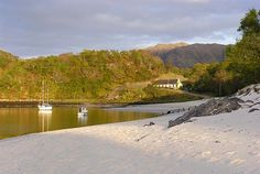 Silver Sands of Morar, Scotland Used to be our cottage what a view to awake too truly loved this cottage thanks Gov Bedroom Tax now stuck in a poxy estate ;)