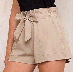 Short elegante con bolsillo