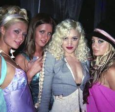 Paris Hilton, Nicki Hilton, Gwen Stefani, & Nicole Richie