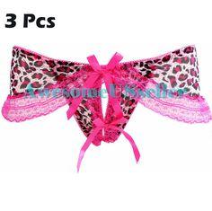 46c226a29c Nylon Lace Fashion Thongs Panties Briefs Underwear New G-string 3 Knickers  Women