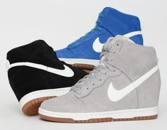 2014 cheap nike shoes for sale info collection off big discount.New nike roshe run,lebron james shoes,authentic jordans and nike foamposites 2014 online. Nike Wedge Sneakers, Nike Wedges, Ankle Sneakers, Slip On Sneakers, Leather Sneakers, Nike Shoes, Women's Shoes, Shoes Style, Swag Shoes