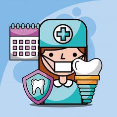 Teeny-tiny Dental Implants Parts