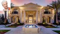 Inside a New $69.8 Million Crystal-Encrusted Palace in Newport Beach – Robb Report Newport Coast, Newport Beach, Marble Foyer, Mansion Global, Venetian Plaster Walls, Iron Front Door, Manhattan Hotels, Peninsula Hotel, Custom Pools