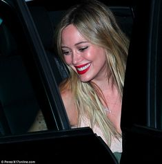 Spotted: Hilary Duff has night off from motherhood partying at P!nk concert wearing the Nude Original Cami by #CamiNYC