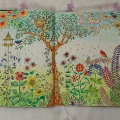 Johanna Basford | Colouring Gallery - Faber Castell pencils and pastels