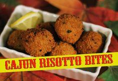 Cajun Risotto Bites - The Vegan Zombie
