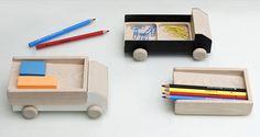 Workaholic Collection: Truck Desk Organizer by THINKK Studio