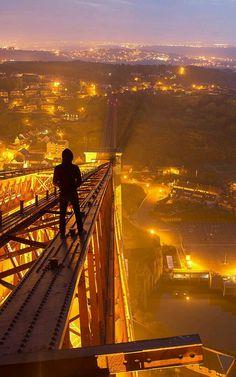 Fourth Rail Bridge in Scotland - Bradley Garrett