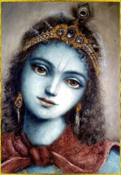 """✨ SHRI KRISHNA ✨ """"The word 'krish' is the attractive feature of the Lord's existence, and 'na' means spiritual pleasure. When the verb 'krish' is added to the affix 'na' it becomes Krishna, which. Krishna Leela, Baby Krishna, Jai Shree Krishna, Cute Krishna, Radhe Krishna, Hanuman, Radha Krishna Images, Lord Krishna Images, Radha Krishna Love"""