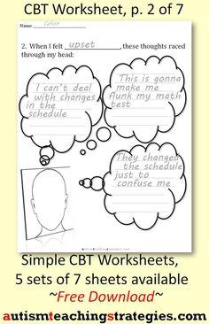 Cbt Worksheets for Kids. 20 Cbt Worksheets for Kids. Coping Skills Worksheets, Kids Coping Skills, Cbt Worksheets, Counseling Worksheets, Anxiety Coping Skills, Therapy Worksheets, Counseling Activities, Worksheets For Kids