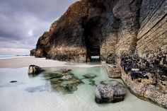 """Playa de """"Las Catedrales"""", Lugo, galicia, spain"""
