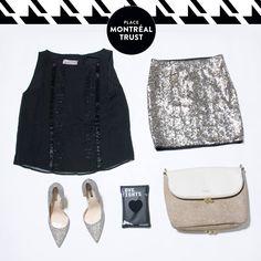 #PMTLook  Scintillez pour le #NouvelAn ! #OOTD #PMT #MTL #Shopping