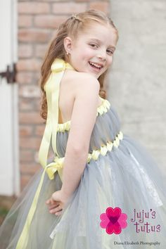 The Grace Flower Girl Dress Size Large by jujustutus on Etsy, $135.00