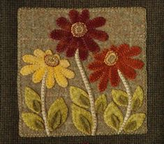 279 best Wool Applique images on